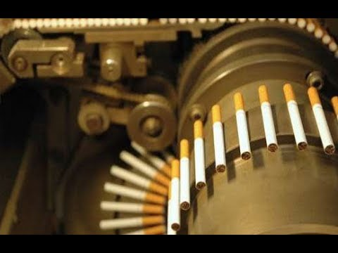 How Cigarettes Are Made - Would You Quit Smoking After Watching This?
