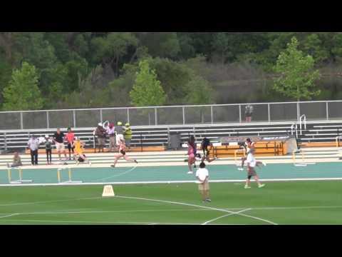 Angelo State Men's 400m Hurdles Kami Norton 2016 Michael Johnson Invitational