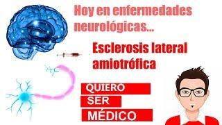 Esclerosis lateral amiotrófica: síntomas y