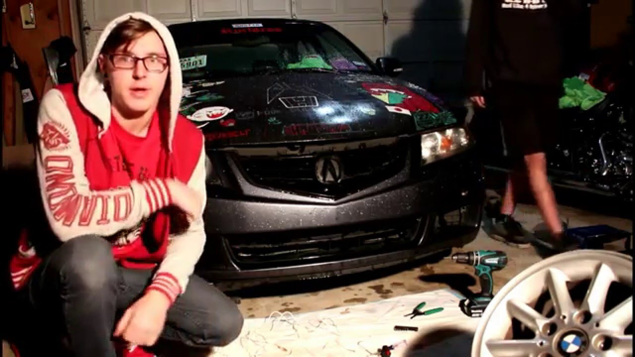 Installing aftermarket fog lights on the TSX - YouTube