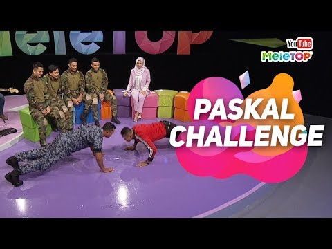 Paskal Challenge dengan abang Askar | Hairul Azreen, Gambit, Ammar Alfian & Hafizul Kamal | MeleTOP