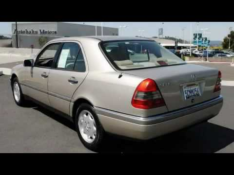 1995 mercedes benz c220 belmont ca youtube for Mercedes benz belmont