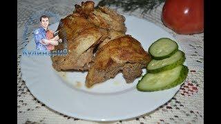 Запеченная курица маринованная в кефире