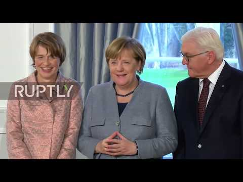 Germany: Steinmeier holds New Year's reception at Berlin's Bellevue Palace