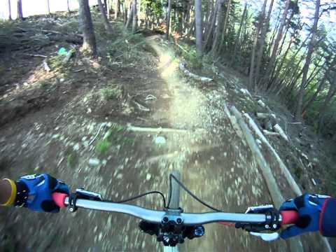 Fujimi Panorama Nagano Japan A coarse DH Mountain Biking