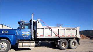 1982 Ford LTL9000 dump truck for sale | sold at auction January 31, 2013