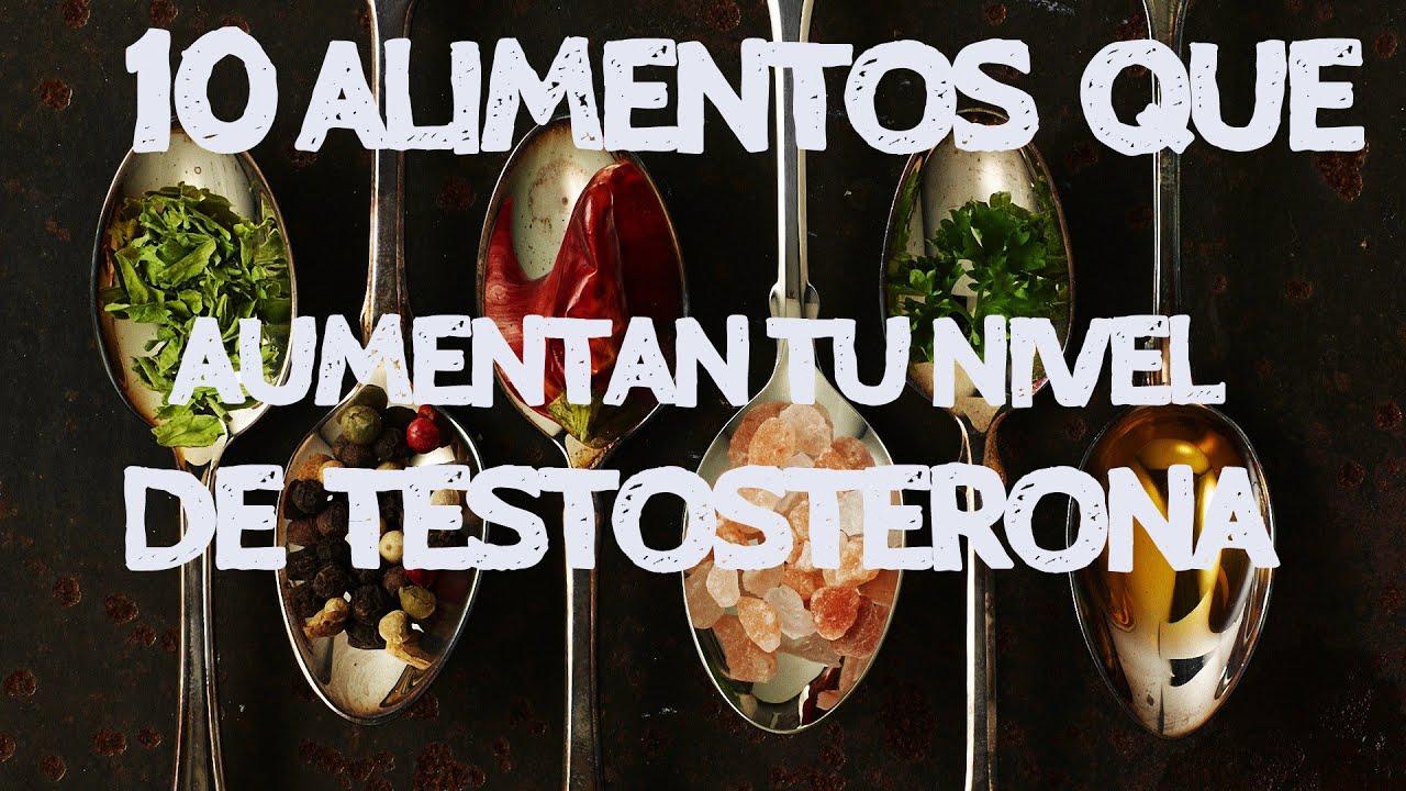 Alimentos que elevan la testosterona naturalmente youtube - Alimentos con testosterona ...