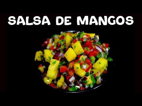Deliciosa Salsa De Mango Para Pescados O Tacos