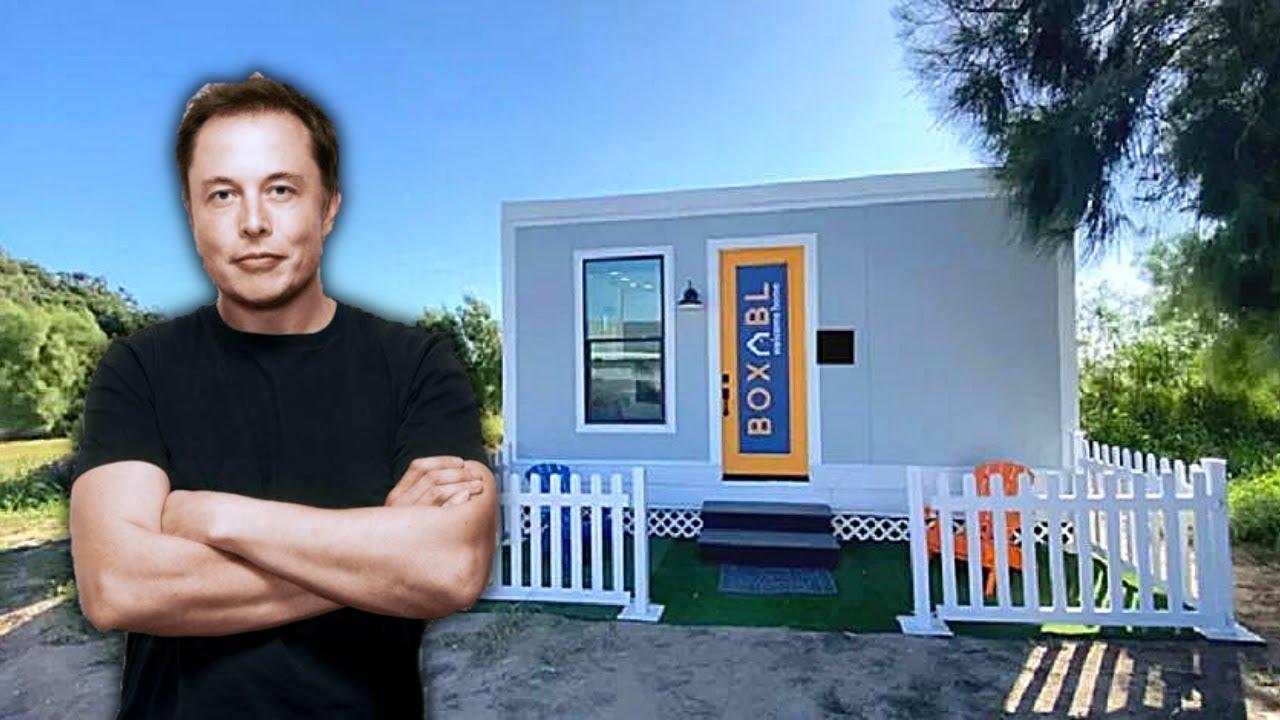 La Pequeña Casa Dónde Vive Elon Musk