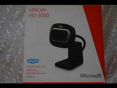 microsoft-lifecam-hd---3000-webcam-(unboxing-and-review)