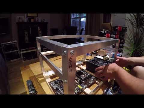 Building Ethereum Mining Rig On EthOS (mining On Ethereum Mining Pool) PART 1.