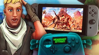 Use il CONTROLLER da HACKER your Nintendo Switch... *INGIUSTO* Fortnite ITA!