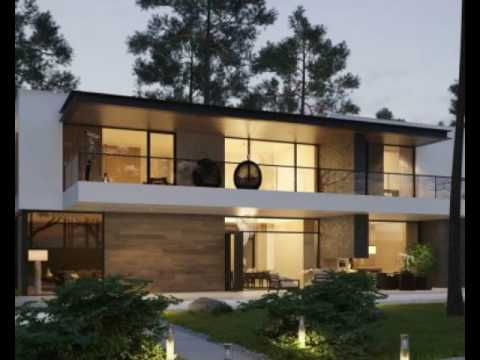 Modern Home Exteriors With Stunning Outdoor Spaces Youtube