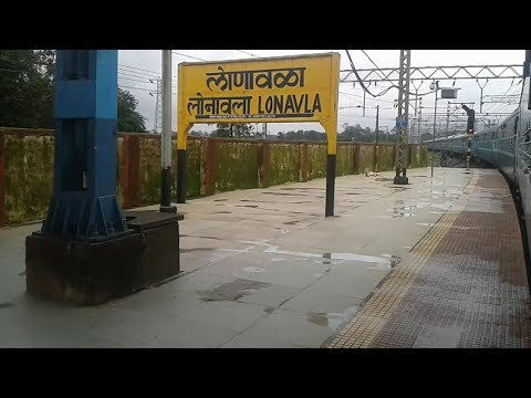 Full Journey of Lonavala to Mumbai by Train Travel Video