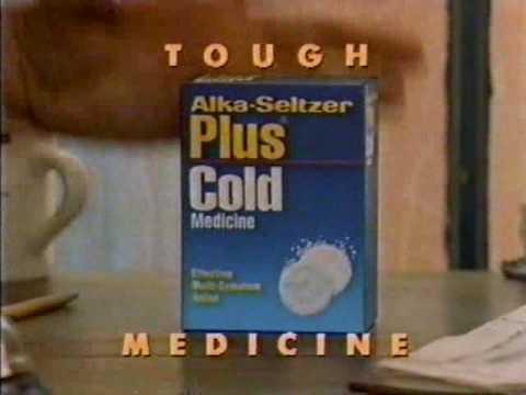 1992 Alka Seltzer Plus Commercial
