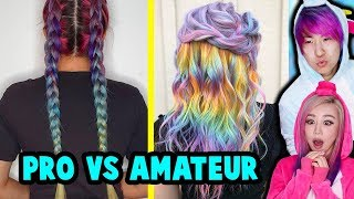 Professional Unicorns Reacts To Amateur Unicorn Hairstyles *not really