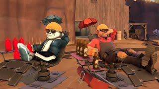 Team Fortress 2 | Deathrun Undertale map [#3]