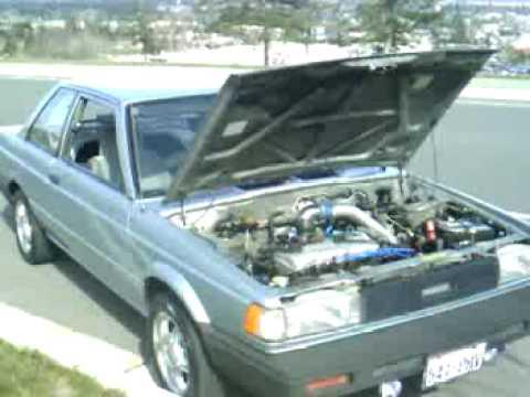 1990 Nissan Sentra - YouTube
