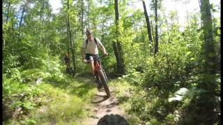 Summer Fatbiking with Up North Guided Tours