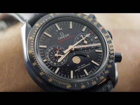 Omega Speedmaster Moonwatch Aventurine Blue Side Of The Moon 304.93.44.52.03.002 Omega Watch Review