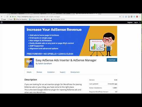 Easy AdSense Ads – Ad Inserter & AdSense Ad Manager