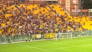 Coppa Italia, Parma-Pisa, Ingresso squadre in campo (Aida)