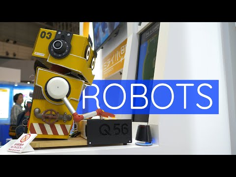 WHERE Are All The Robots From Japan? CEATEC 2019