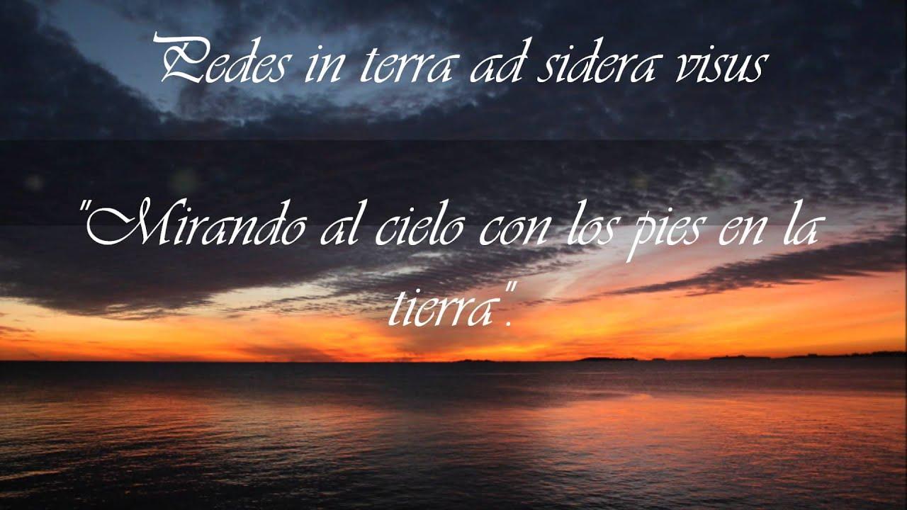 Frases en lat n que empiezan con la letra p traducidas al for Fraces en latin
