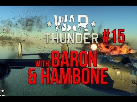 War Thunder Gameplay #15 - Bomber Escort Fail
