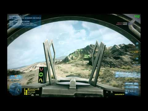 Battlefield 3: IzNoGooD343 in jet @ Operation Firestorm #12