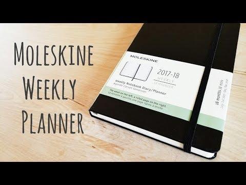 Moleskine Weekly Planner Flip-Through