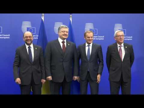 EU-Ukraine summit - Highlights