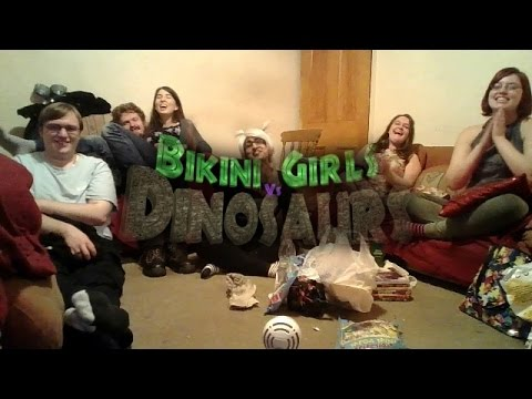 Bikini girls on dinasaur planet — photo 5