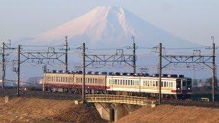【富士山をバックに走行! リバイバルカラー6162F+通常色6157F 通常運用開始!】東武6050系 混色編成 本日3か所で追っかけ撮影