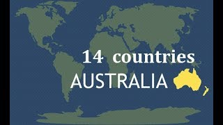 Countries In Australasia