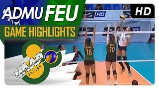 UAAP 80 WV: ADMU vs. FEU | Game Highlights | March 7, 2018