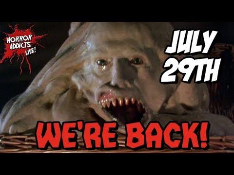 WE'RE BACK! ???? Horror News - Buffy, Scream Factory & Joe Bob Briggs