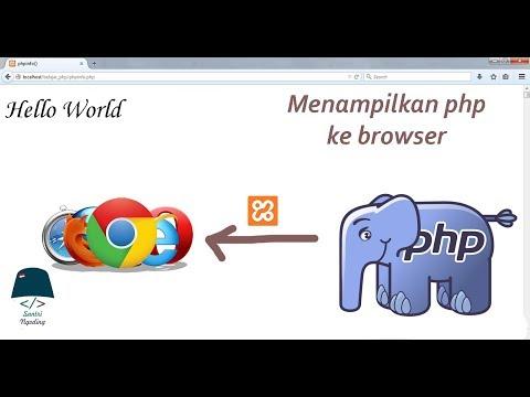 Cara Run Php Di Browser