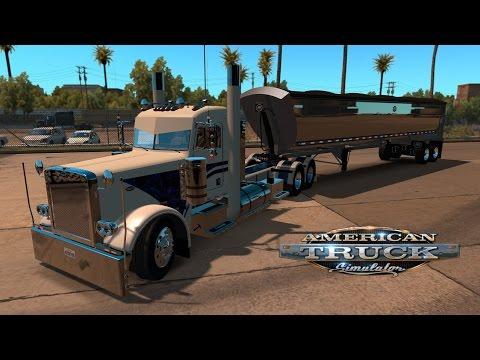 American Truck Simulator - Electric Blue 389 in Vegas