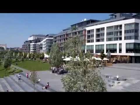 Eurovea Galleria - shopping mall Bratislava, Slovakia