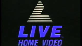 Paramount Pictures (1987)/LIVE Home Video (1990) Logos