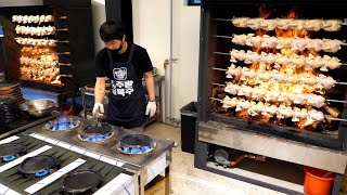 10,000 chicken sold out a day! amazing chicken mass production process - korean street food