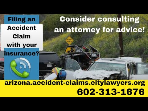 Arizona Allstate Insurance Accident Claim ® Tips To Settle Car Accident Claim With Insurance Co.