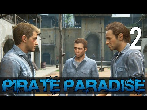 [2] Pirate Paradise (Let's Play Uncharted 4: A Thief's End w/ GaLm)
