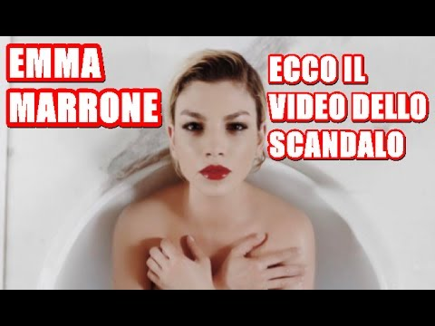 Emma Marrone Nuda.Ecco Il Video Scandalo !!