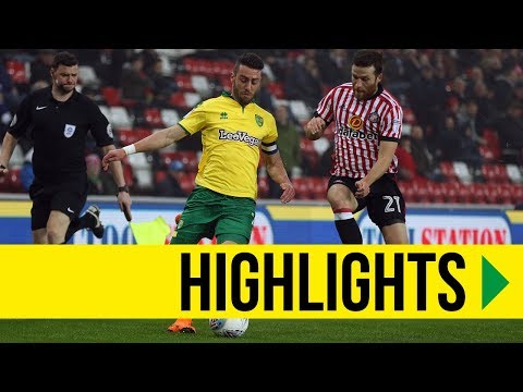 HIGHLIGHTS: Sunderland 1-1 Norwich City