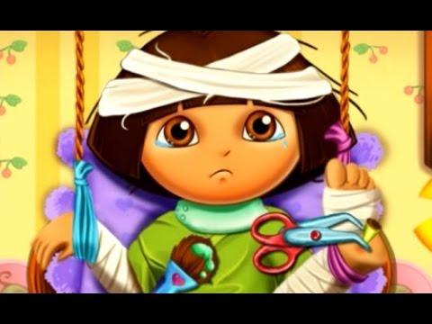 Dora the Explorer Hospital Recovery - Episodes For Children Cartoon Movie Game New 2015