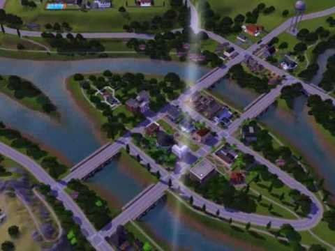 Riverview A New City In The Sims 3 Youtube