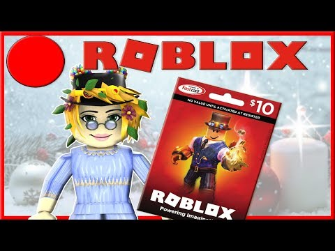 Robux Gift Card Walmart Near Me Roblox Live Mrs Samantha 10 Robux Gift Card Code Giveaway Youtube