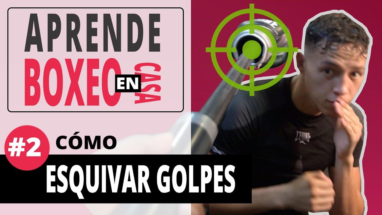 APRENDE BOXEO en CASA #2 ▶︎ Cómo ESQUIVAR GOLPES 💥 (Técnica y ejercicios)